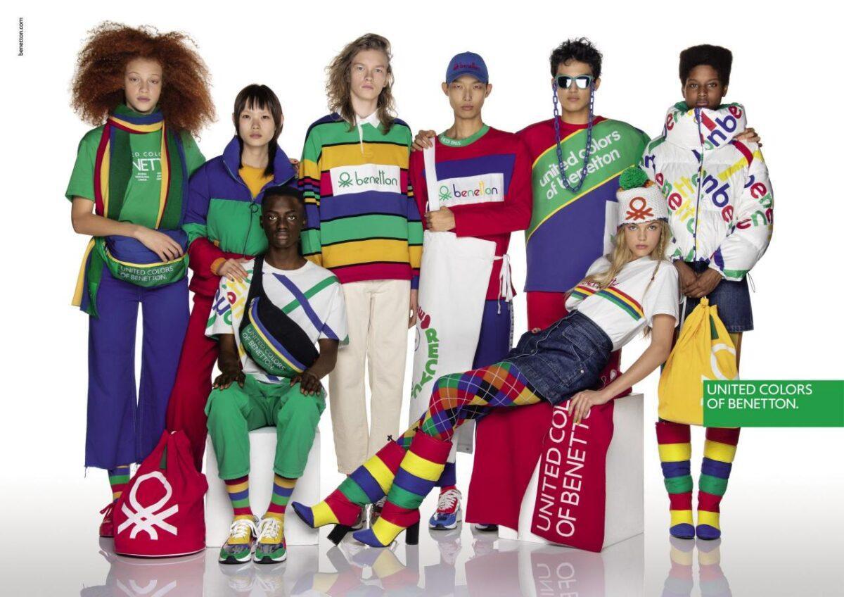 Молодежный бренд United colors of Bentton