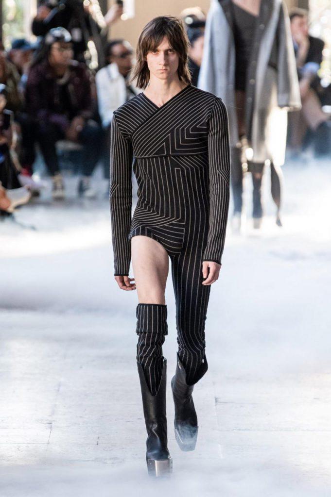 мужская мода Rick Owens