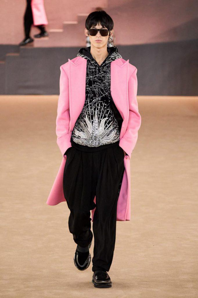 показ мужской моды бальмен