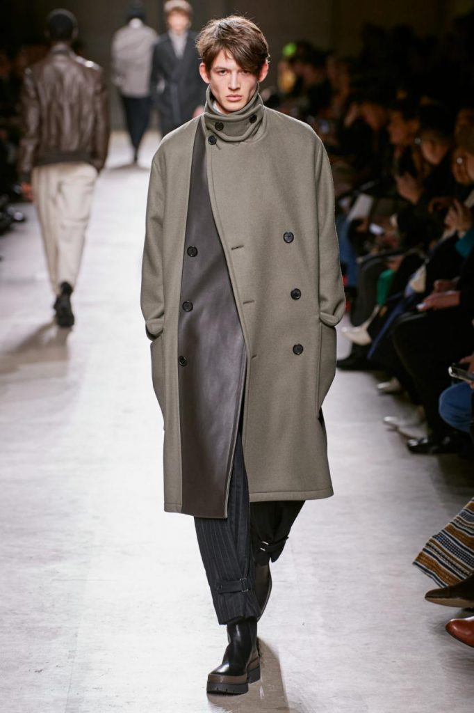 подиум осень-зима от Hermès