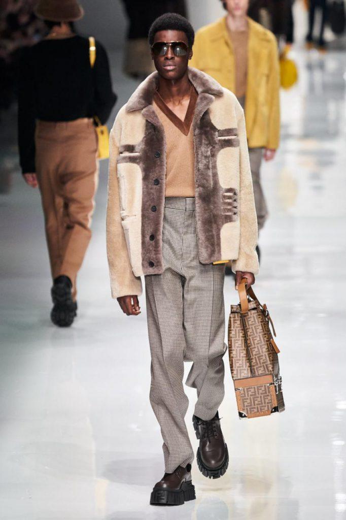 мужская мода от Fendi