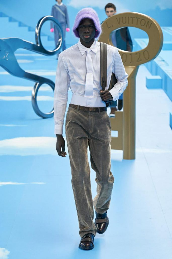 подиум осень-зима и Louis Vuitton