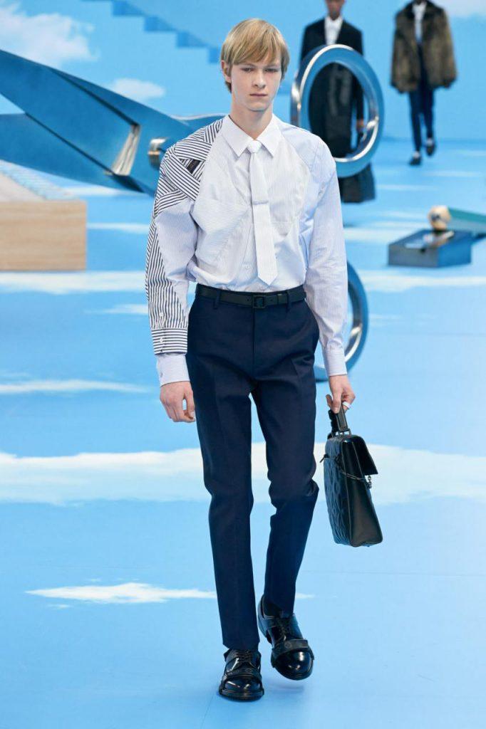 рубашка и стиль от Louis Vuitton