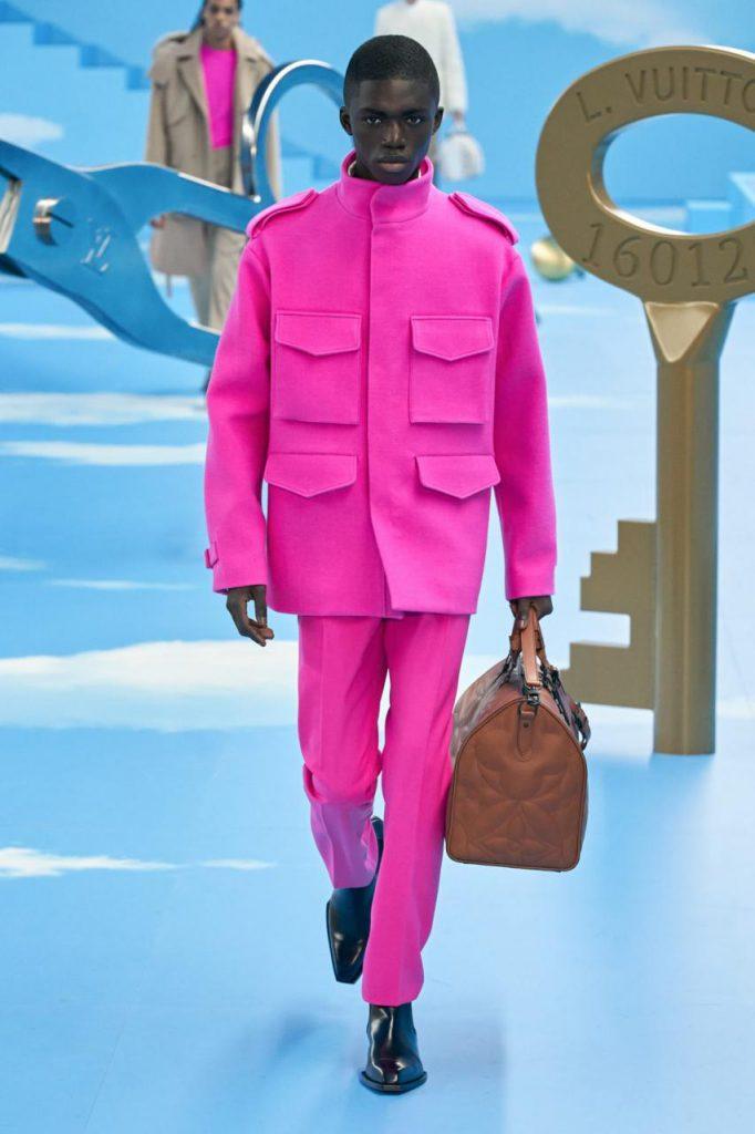 осень-зима 2021 от Louis Vuitton