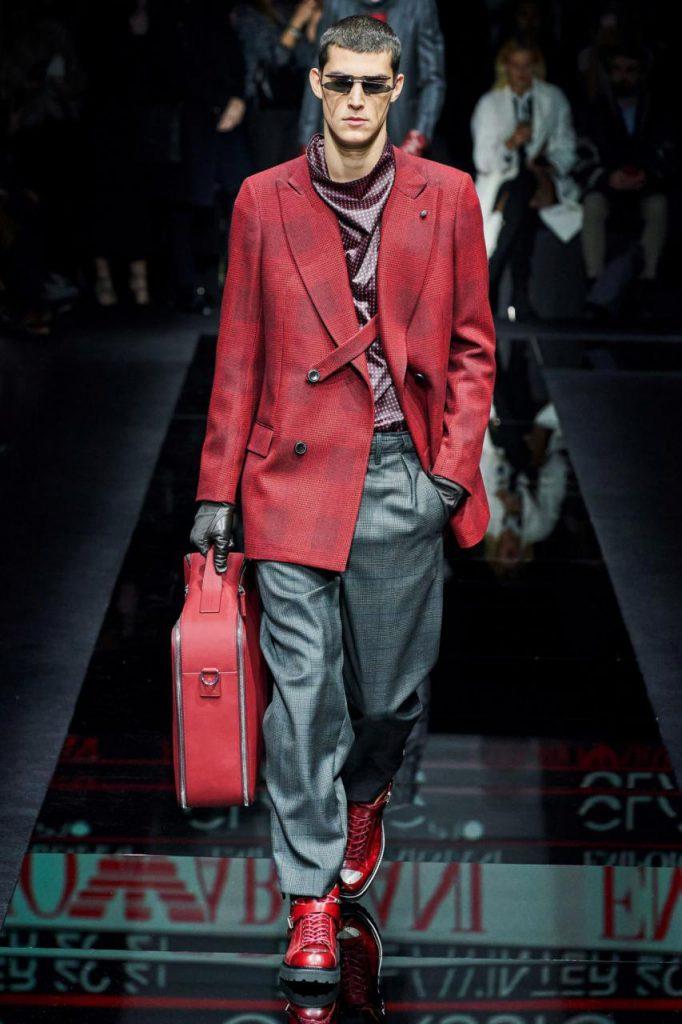 новая мода от Emporio Armani осень-зима