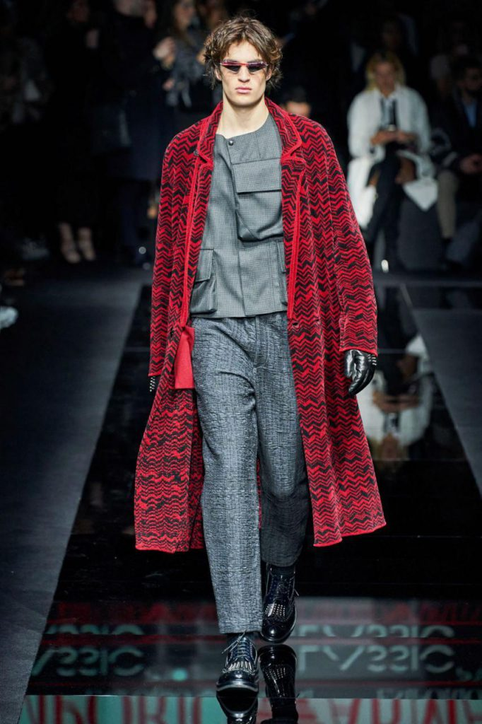 пальто от Emporio Armani осень-зима