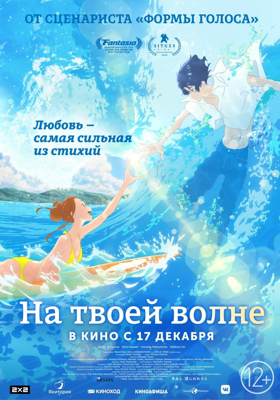 Постер аниммэ