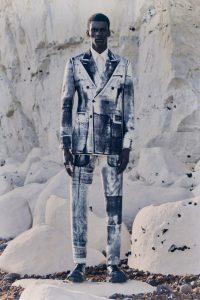 Alexander McQueen мужской подиум 2021
