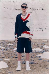Alexander McQueen подиум2021
