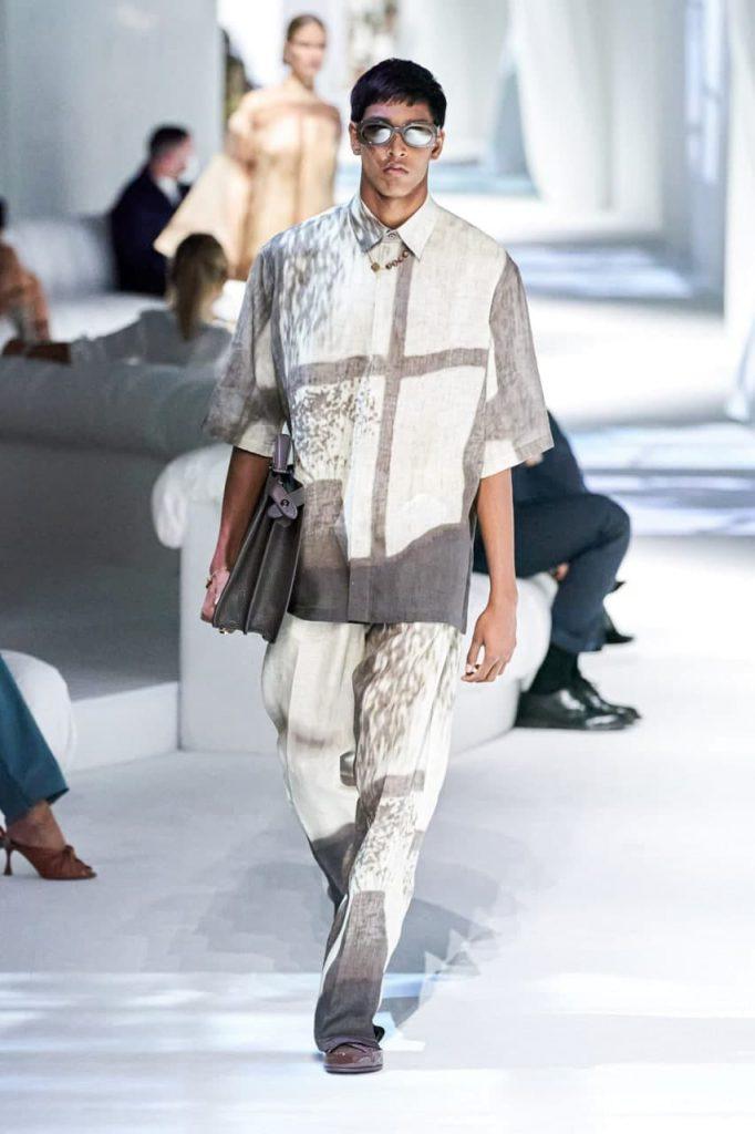 Fendi новая мужская мода
