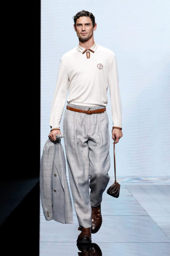 Giorgio Armani мужская мода