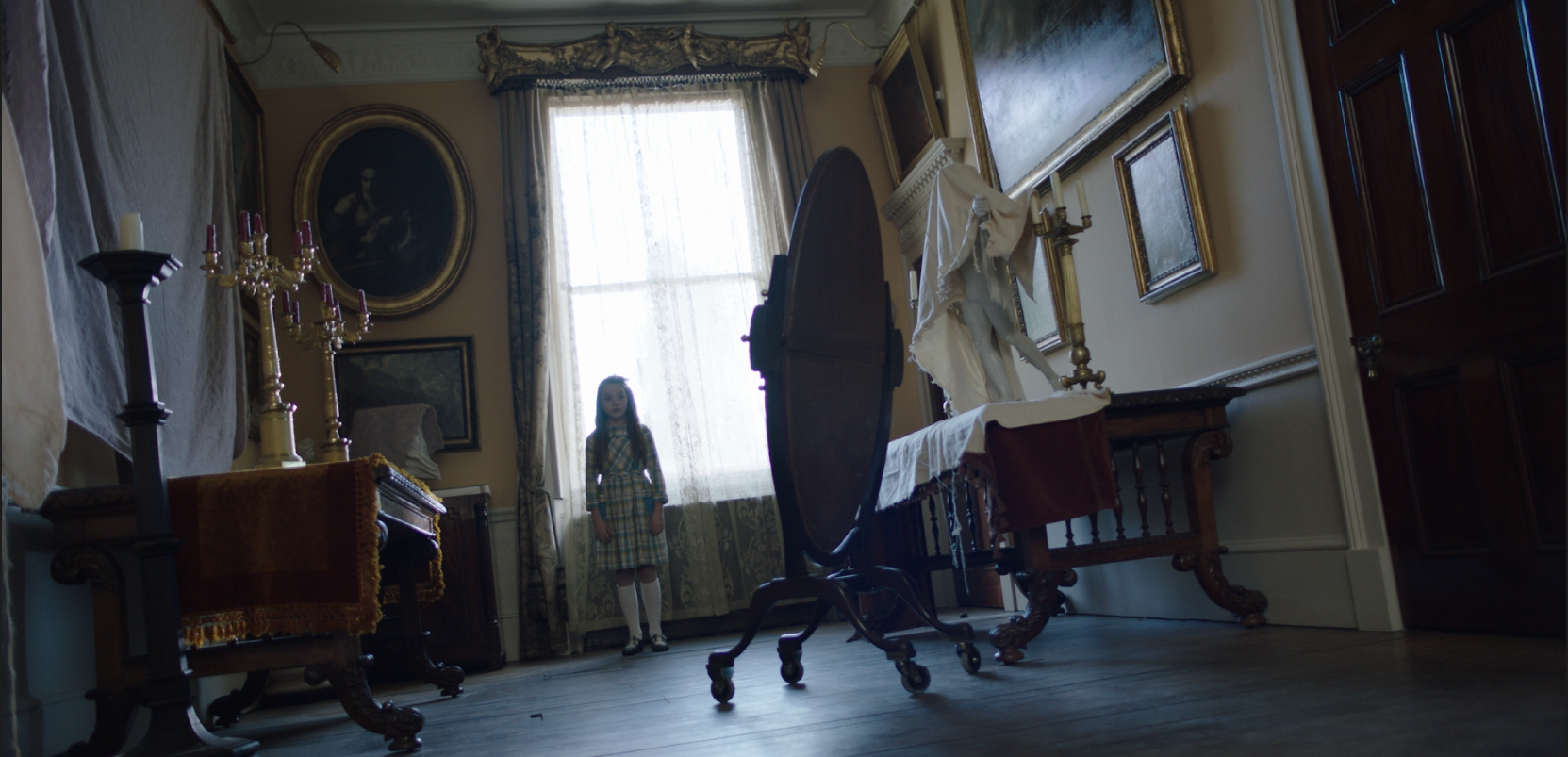 хоррор Проклятие: Призраки дома Борли