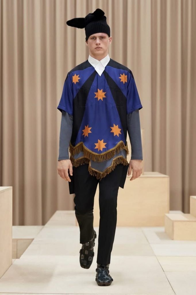 новая мода от Burberry