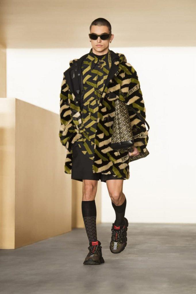 Versace осень-зима