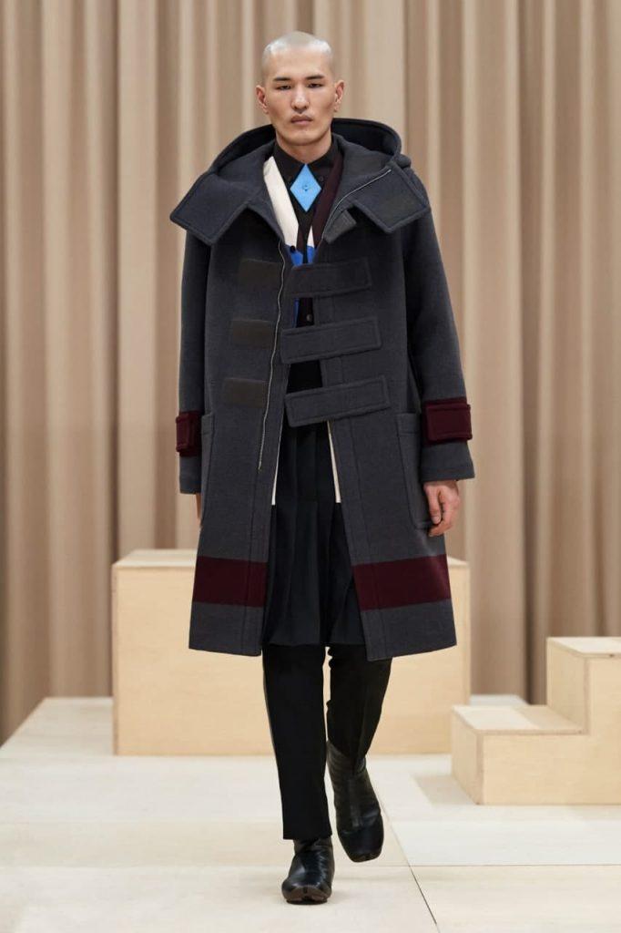 мужская мода от Burberry