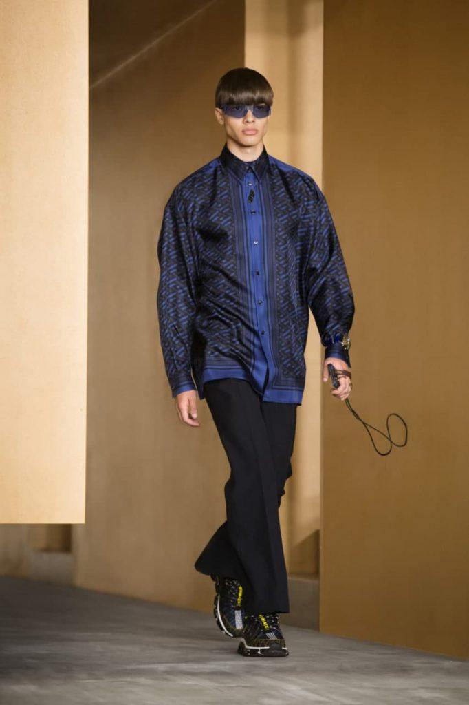 Versace осень-зима 2022