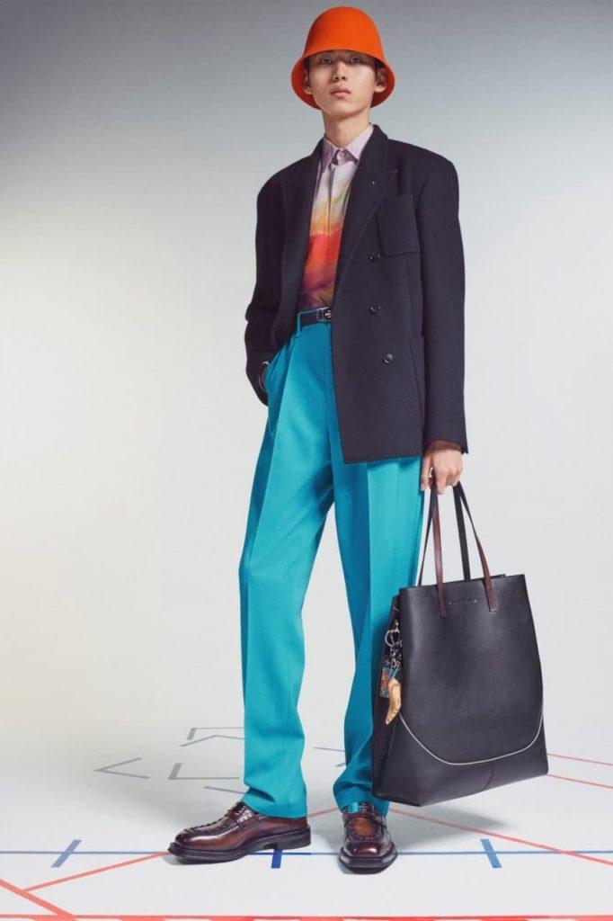Berluti2022 мужской костюм