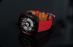 красные умные часы Doogee DG Ares