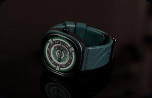 зеленые умные часы Doogee DG Ares