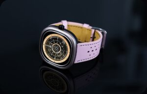 розовые умные часы Doogee DG Ares